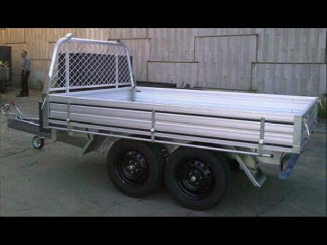 9 x 6 Aluminium Ute Trailer 2000kg GVM (Item 36)