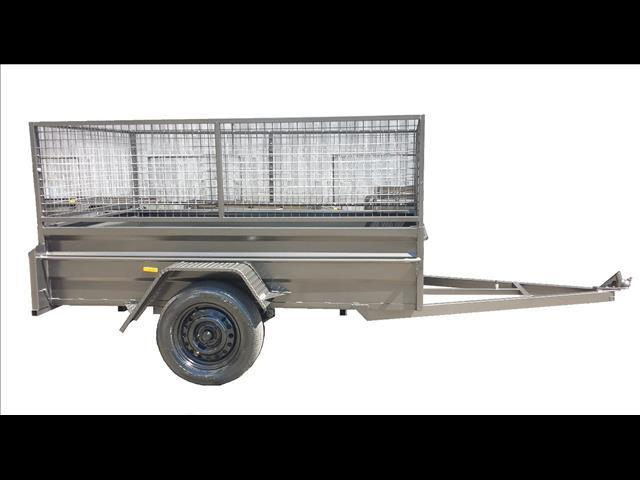 Box Trailer with Cage (Item 11)