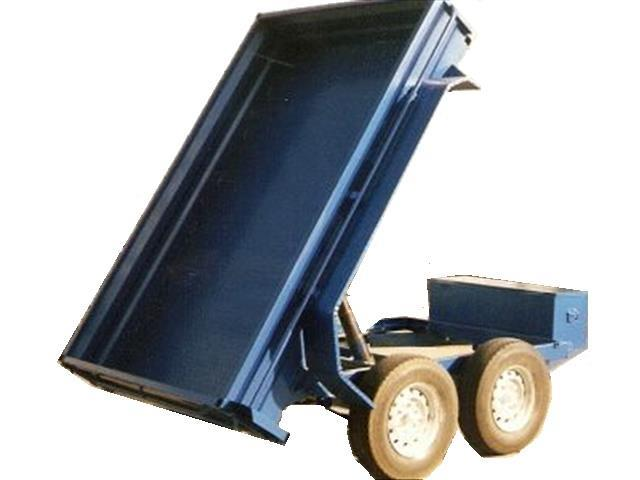 Box Trailer with Hydraulic Lift Tipper (Item 131)