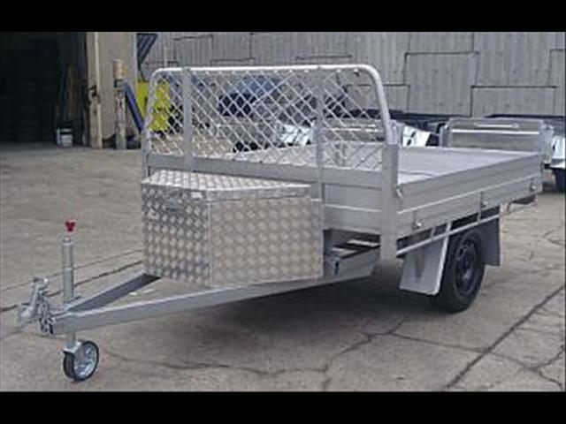 Aluminum Ute Back Table Top Trailer (Item 2)