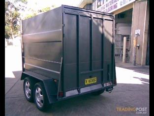 Luggage Trailer Enclosed Dual Axle (Item 94)