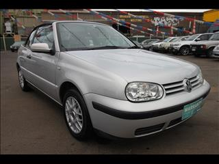 2000 VOLKSWAGEN GOLF GL 4th Gen CABRIOLET
