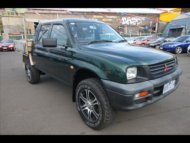 2001 MITSUBISHI TRITON GLX MK CAB CHASSIS