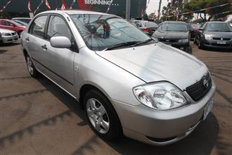 2003 TOYOTA COROLLA Ascent ZZE122R SEDAN