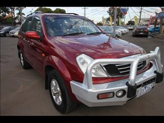 2003 SSANGYONG REXTON  Y200 WAGON