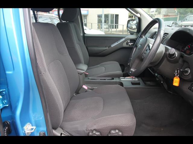 2008 NISSAN NAVARA ST-X D40 CAB CHASSIS