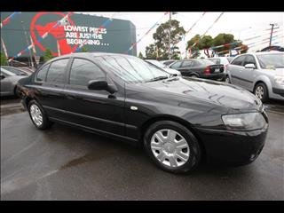 2007 FORD FALCON XT BF Mk II SEDAN