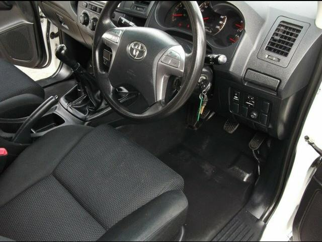 2014 Toyota Hilux SR (4x4) KUN26R MY14 Dual Cab Pick-up