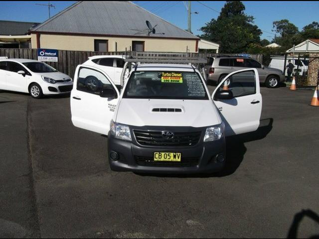 2014 Toyota Hilux Workmate KUN16R MY14 Cab Chassis