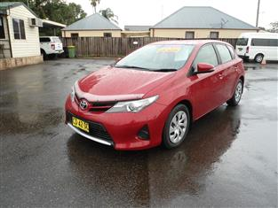 2015 TOYOTA COROLLA ASCENT ZRE182R MY15 5D HATCHBACK