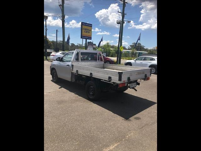 2016 TOYOTA HILUX WORKMATE TGN121R C/CHAS