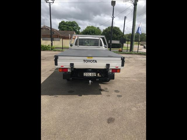 2017 TOYOTA HILUX WORKMATE TGN121R MY17 C/CHAS