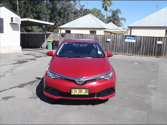 2016 TOYOTA COROLLA ASCENT ZRE182R MY15 5D HATCHBACK