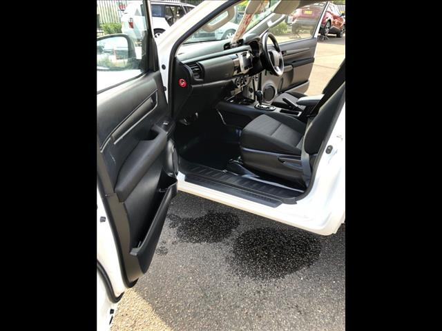 2018 TOYOTA HILUX WORKMATE TGN121R MY19 C/CHAS