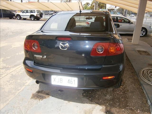 2006 MAZDA MAZDA3 MAXX SPORT BK MY06 UPGRADE 4D SEDAN