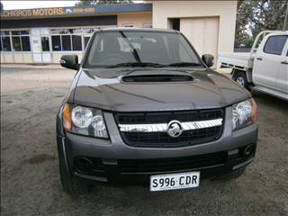 2010 HOLDEN COLORADO LX (4x4) RC MY10.5 CREW CAB P/UP