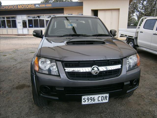 2010 HOLDEN COLORADO LX (4x4) RC MY10.5 CREW CAB P/UP