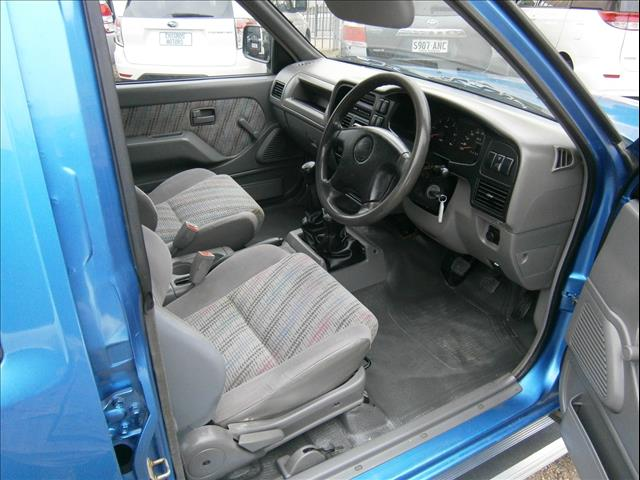 2001 HOLDEN RODEO LX (4x4) TFG6 CREW CAB P/UP