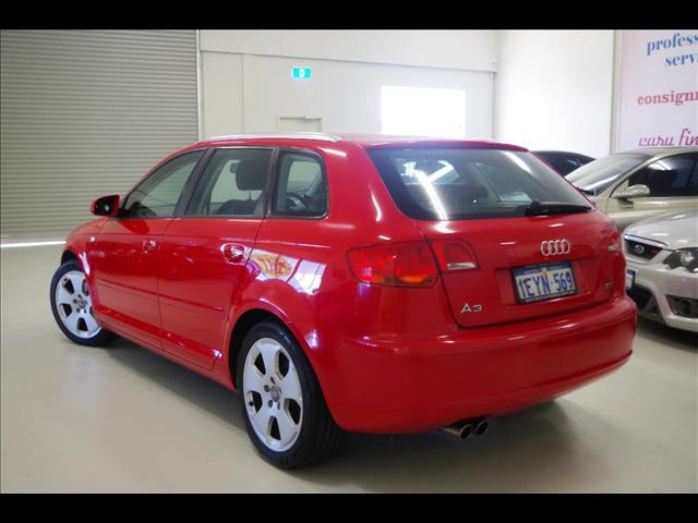 2008 AUDI A3 Ambition 8P HATCHBACK