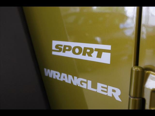 2007 JEEP WRANGLER Sport JK SOFTTOP