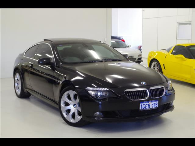 2008 BMW 650I  E63 COUPE