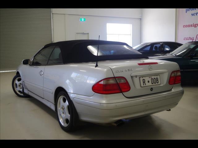 2001 MERCEDES-BENZ CLK430 Elegance A208 CABRIOLET