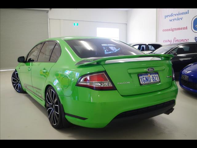 2008 FORD FALCON XR8 FG SEDAN