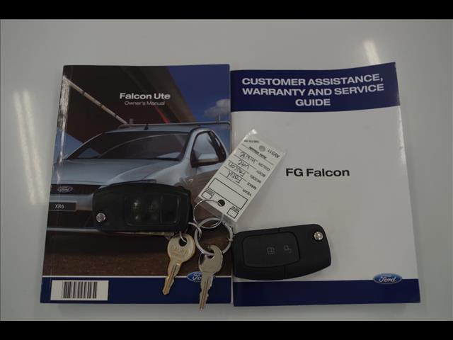 2010 FORD FALCON UTE  FG UTILITY