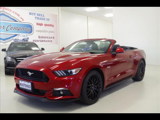 2017 FORD MUSTANG GT FM CONVERTIBLE