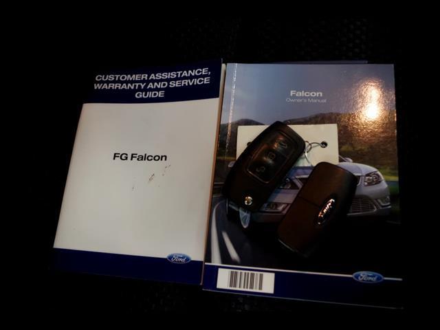 2010 FORD FALCON XR6 FG SEDAN