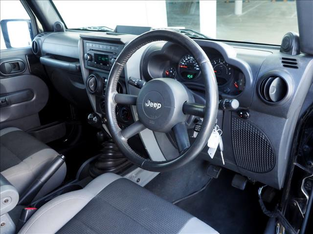 2007 JEEP WRANGLER Unlimited Sport JK SOFTTOP