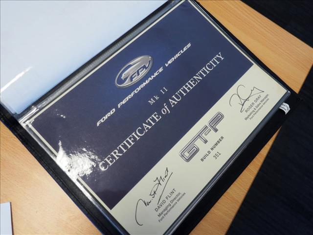 2005 FORD PERFORMANCE VEHICLES GT-P  BA Mk II SEDAN