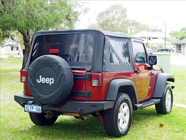 2009 JEEP WRANGLER Sport JK SOFTTOP