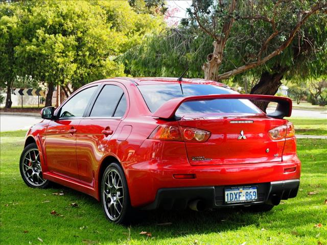 2010 MITSUBISHI LANCER Evolution MR CJ SEDAN