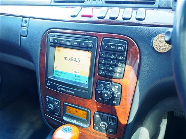 2001 MERCEDES-BENZ S320  W220 SEDAN