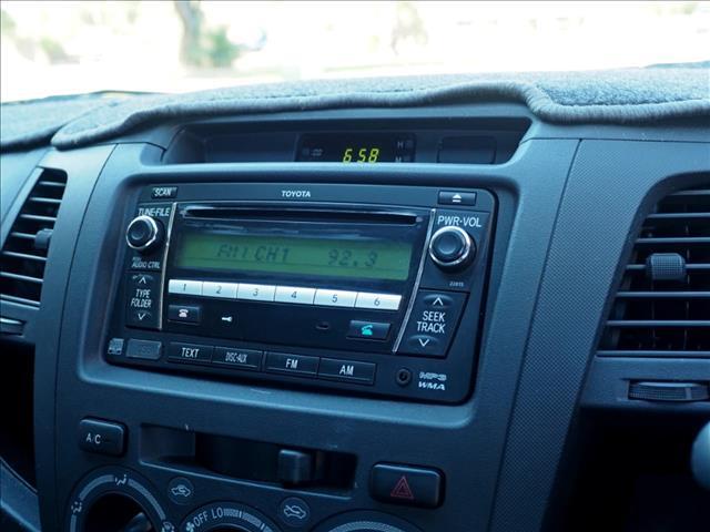 2009 TOYOTA HILUX SR KUN16R CAB CHASSIS