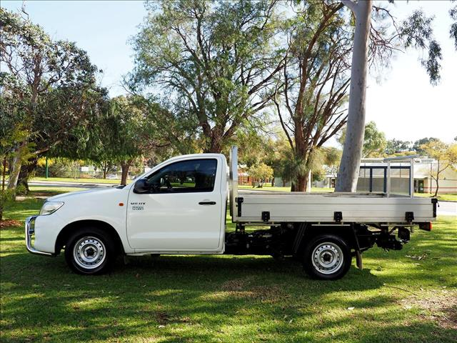 2014 TOYOTA HILUX Workmate TGN16R CAB CHASSIS