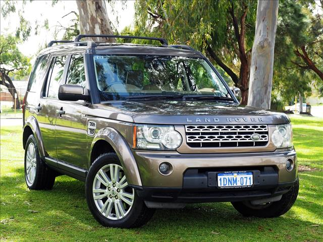 2011 LAND ROVER DISCOVERY 4 SDV6 HSE Series 4 WAGON