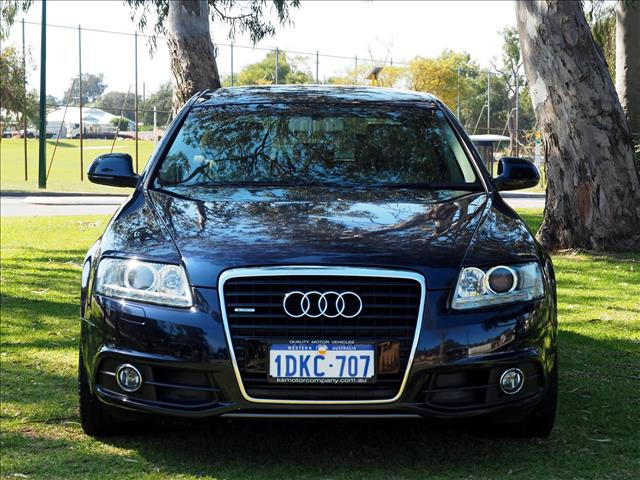 2010 AUDI A6  4F SEDAN