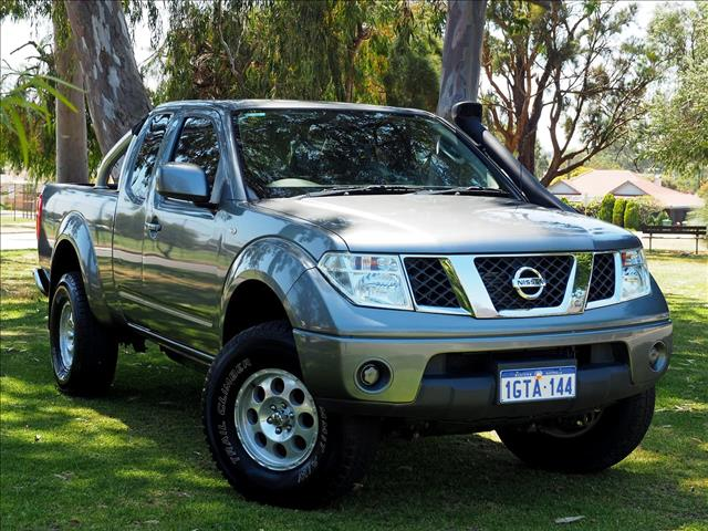 2013 NISSAN NAVARA ST-X D40 Series 6 UTILITY