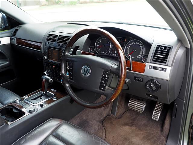 2005 VOLKSWAGEN TOUAREG V10 TDI 7L WAGON