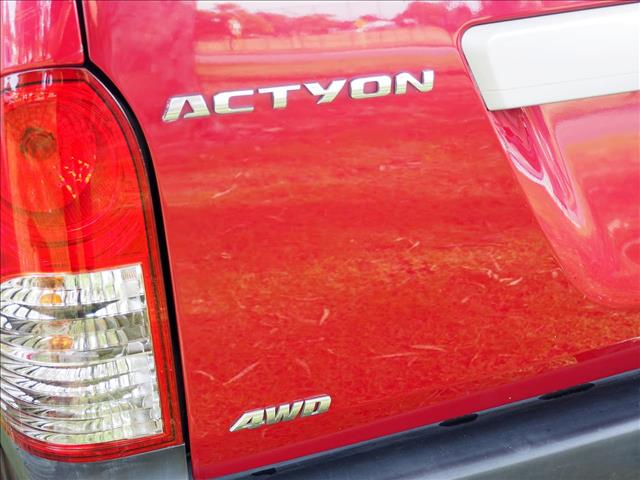 2010 SSANGYONG ACTYON SPORTS Sports 100 Series UTILITY