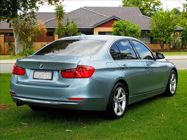2012 BMW 3 SERIES 320i F30 SEDAN