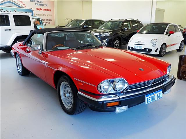 1989 JAGUAR XJS  (No Series) CONVERTIBLE