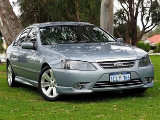 2007 FORD FAIRMONT Ghia BF Mk II SEDAN