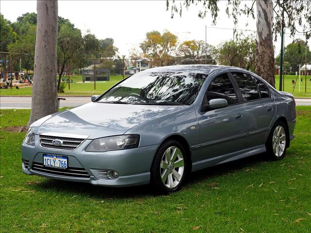 2007 FORD FAIRMONT Ghia BF Mk II SEDAN