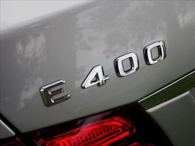 2013 MERCEDES-BENZ E-CLASS E400 W212 SEDAN