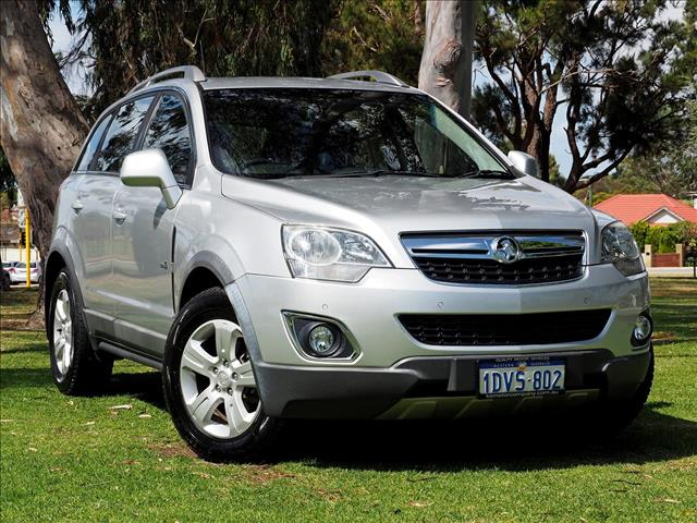 2012 HOLDEN CAPTIVA 5 CG Series II WAGON