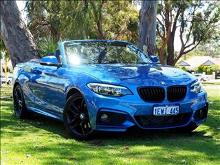 2015 BMW 2 SERIES 220i M Sport F23 CONVERTIBLE