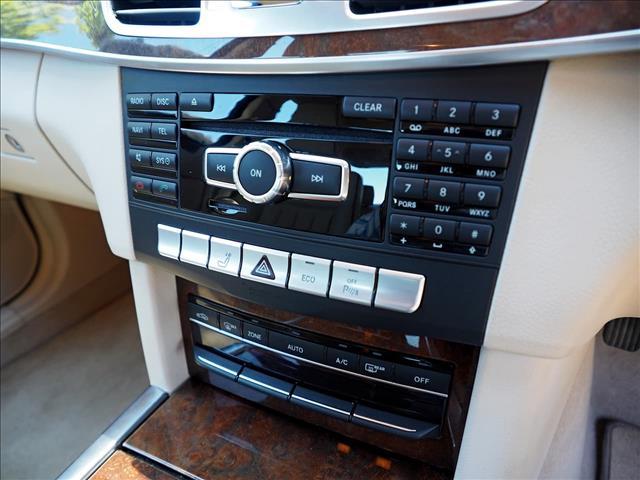 2013 MERCEDES-BENZ E-CLASS E400 W212 SEDAN